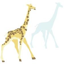 RMK3362GM Dwell Studio Giraffe Giant by York